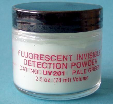 Fluorescenční neviditelné nástrahové prášky-obrazek