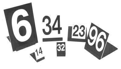 Plastové číslovky-obrazek