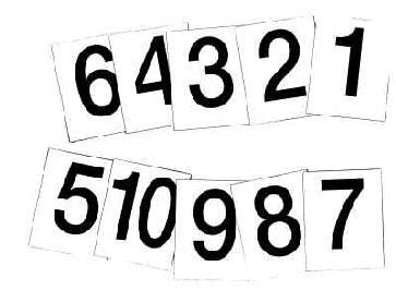 Magnetické číslovky-obrazek