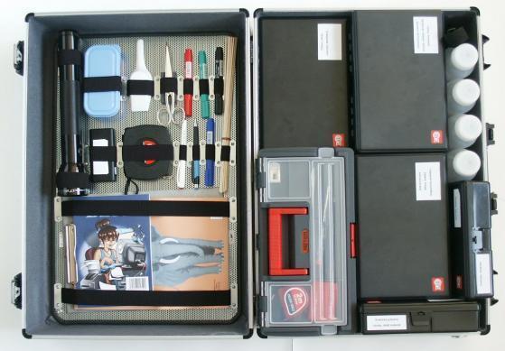 Kriminalistický kufr-obrazek